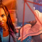 FIRST LOOK: Kaci Walfall As The CW's Naomi
